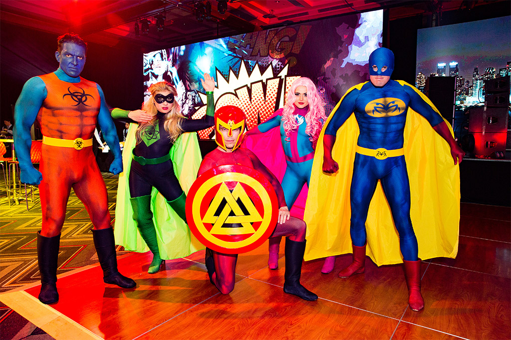 Superheros Themed Event