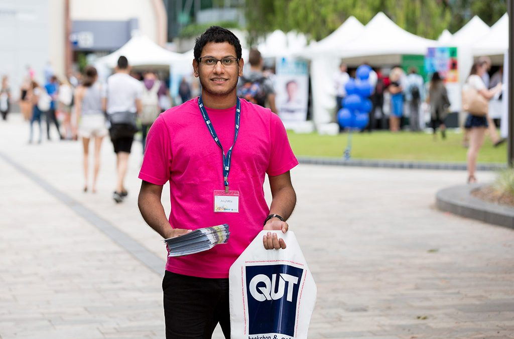 Brisbane Media Photographer – QUT Careers Fair