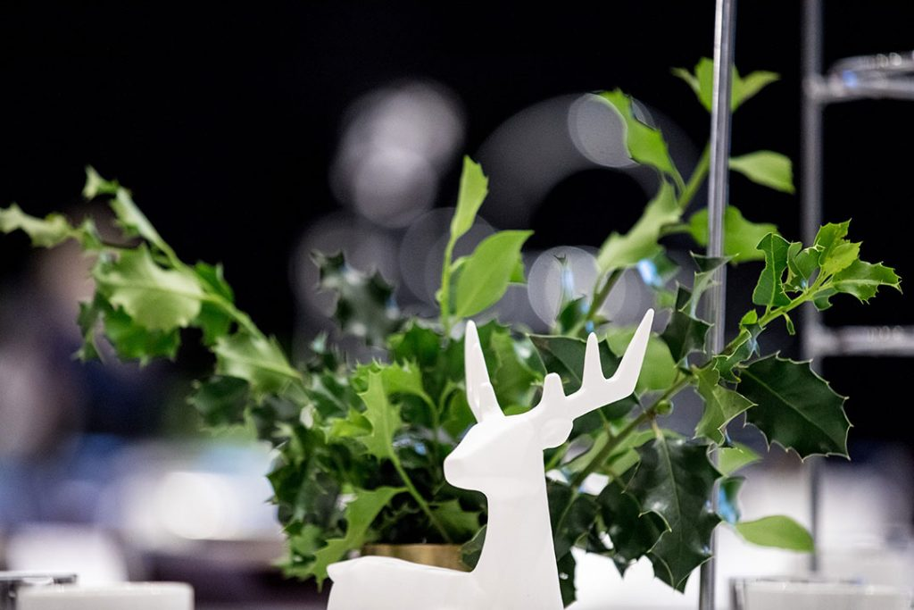 Reindeer table centrepiece