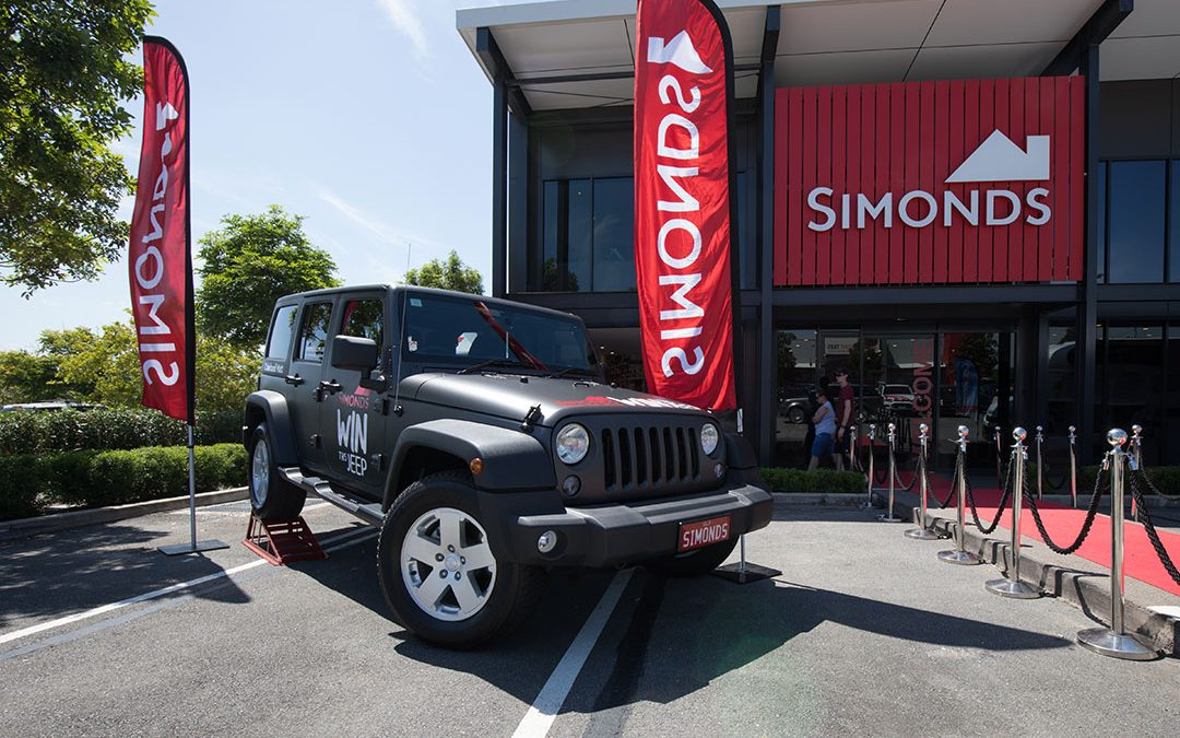 Simonds Homes Jeep Giveaway 2018