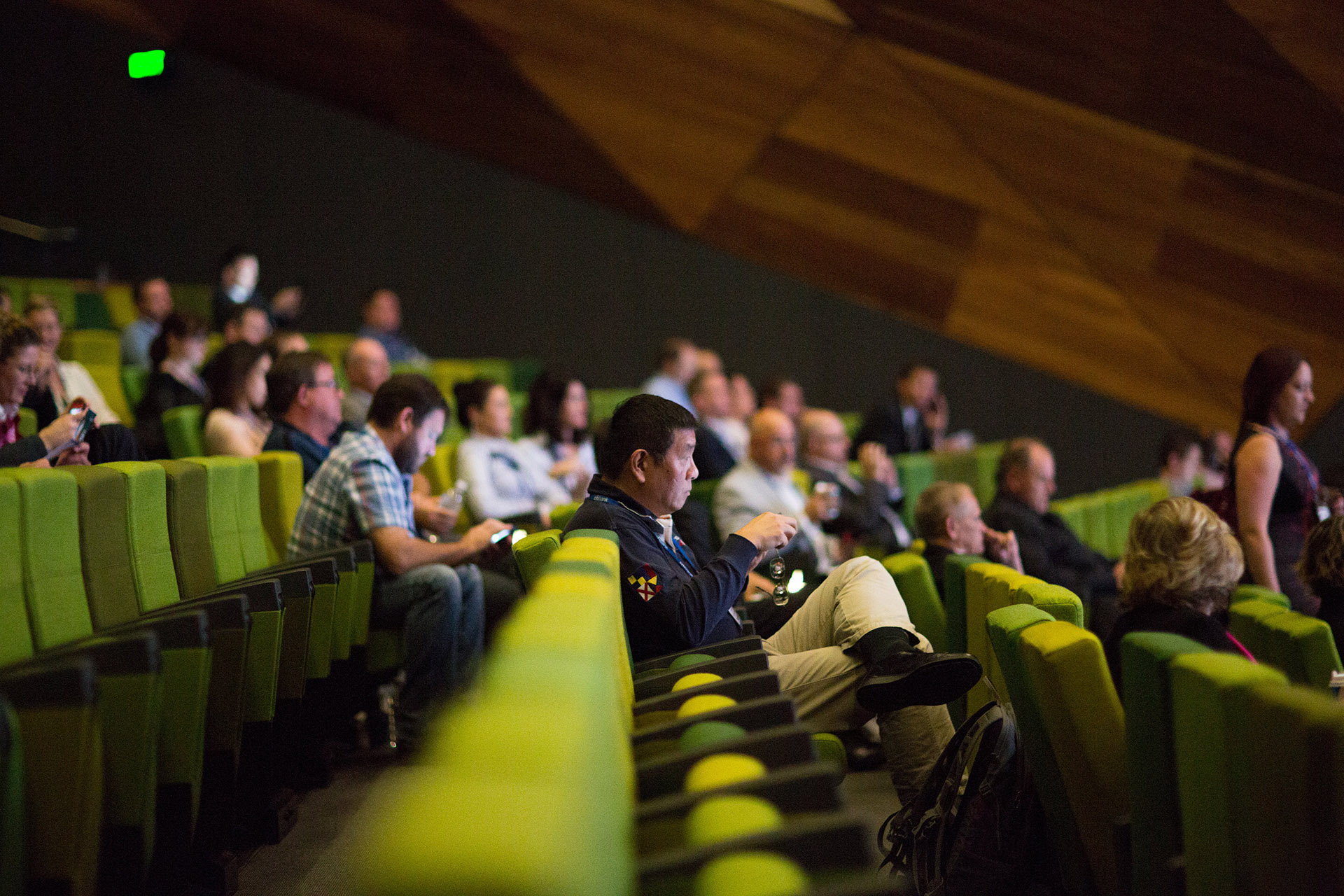 conference audience photography
