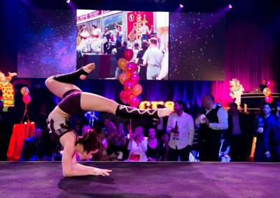 contortionist at event