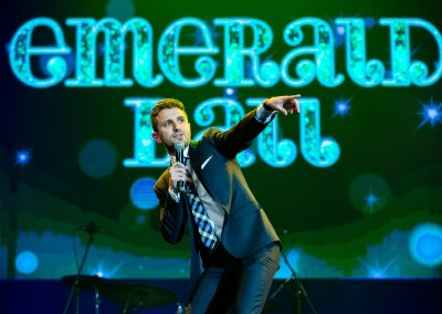 Tommy Little at Emerald Ball