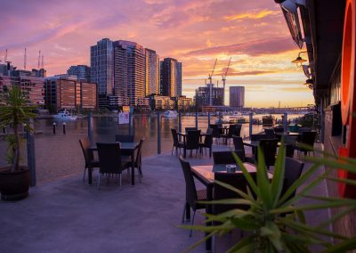 Sunset at Docklands - Professional Photographer