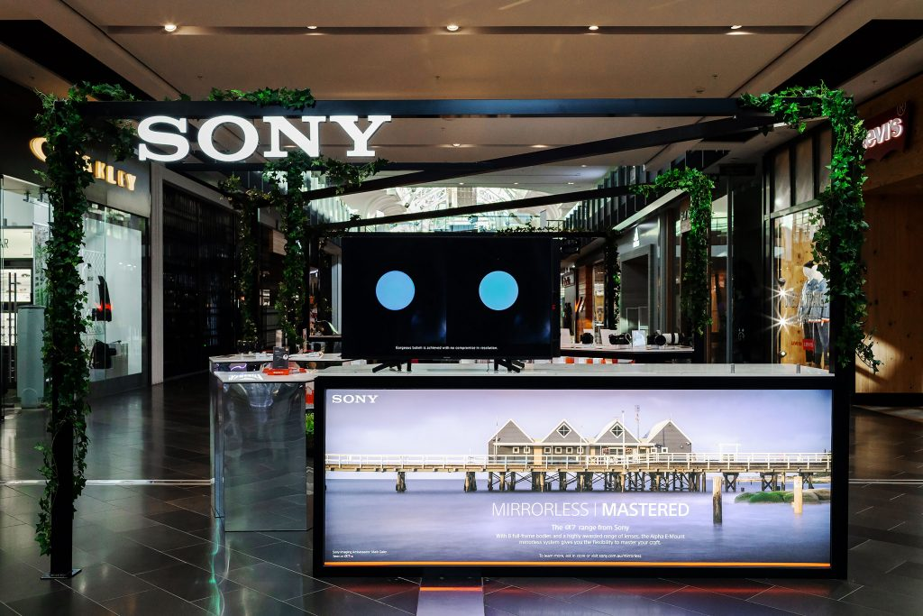 Exhibition Stand Builders Perth : Sony exhibition stand in melbourne u2022 event photos australia