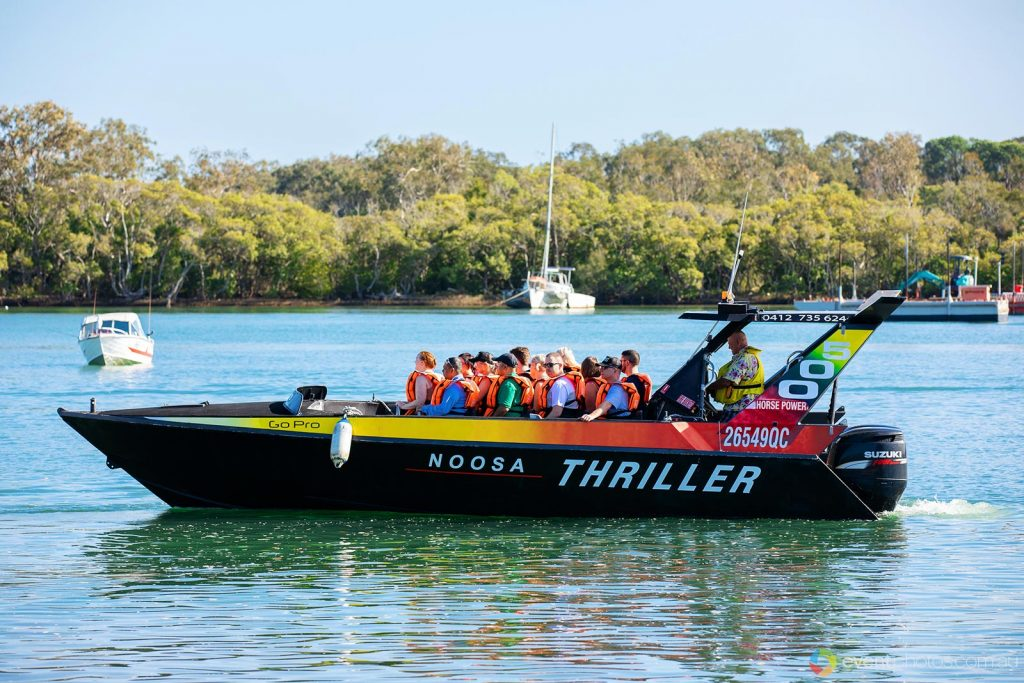 Noosa thriller jetboat