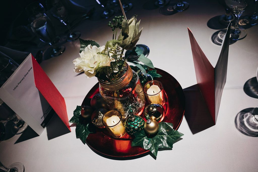 Christmas centrepiece decorations