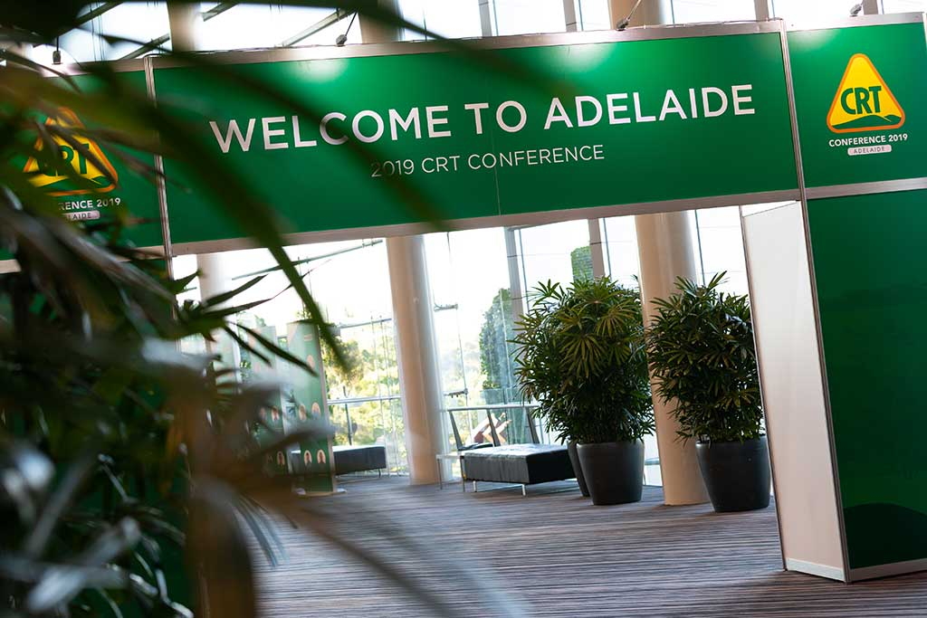 Welcome to Adelaide sign