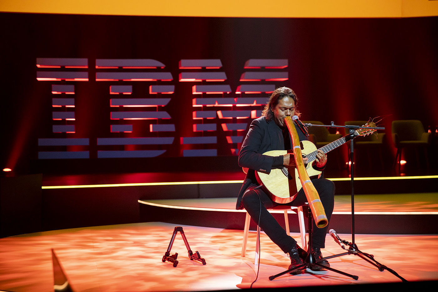 IBM plenary performance at Sydney ICC